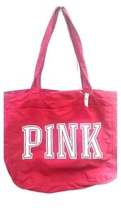 VictoriasSecret PINK ziptop light weight tote bag